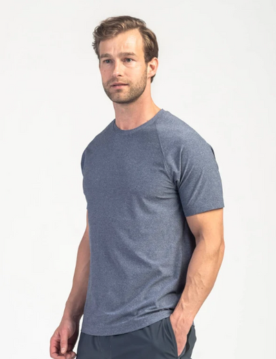 Reign Short Sleeve - Midnight Heather