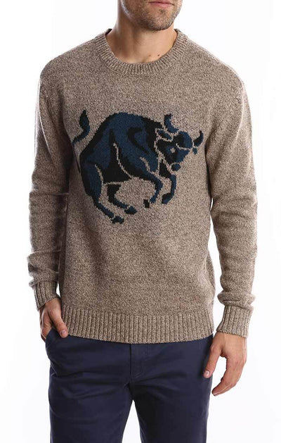 Bull Merino Wool Sweater