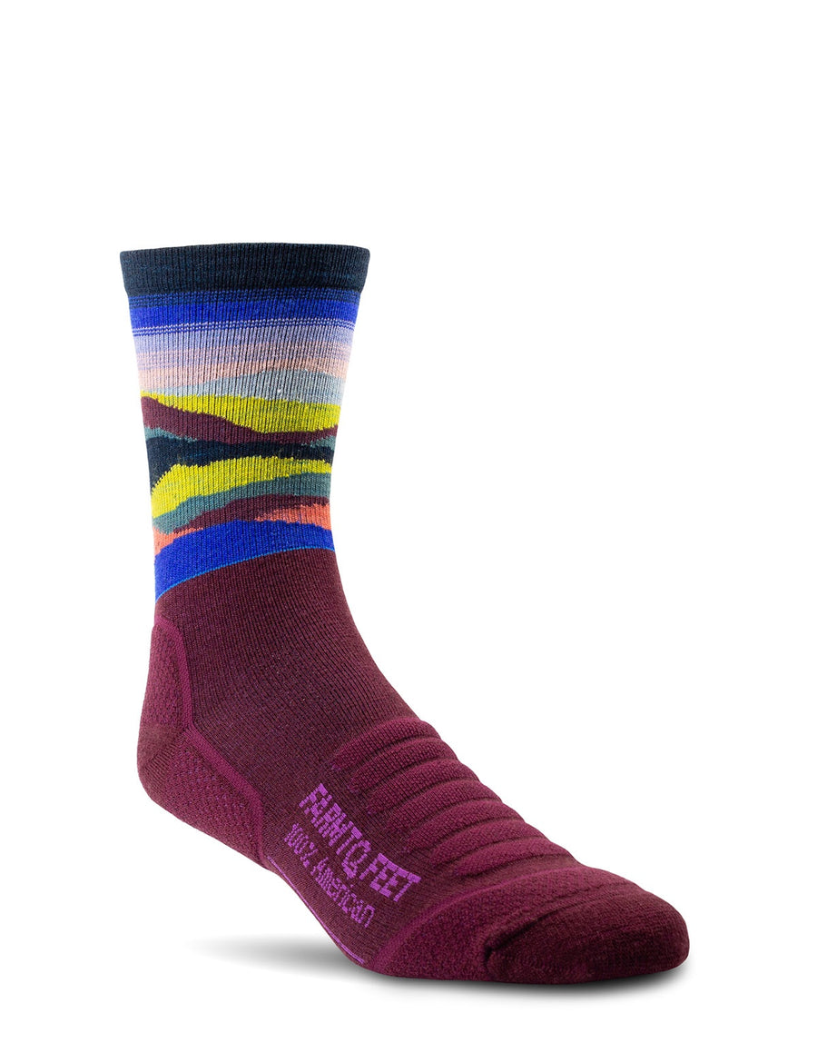 Max Patch - All Season Trail Sock - Zinfandel