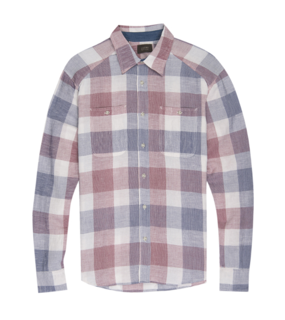 Utility Plaid Workshirt