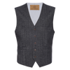 Albert Stretch Vest - Herringbone