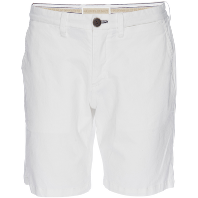 Morgan Bermuda Short in Stretch - White Twill