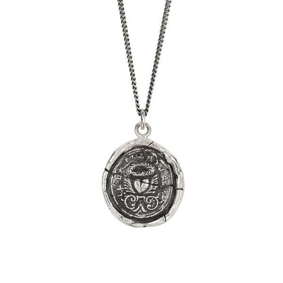 Sterling Silver Talisman Necklace - True Self