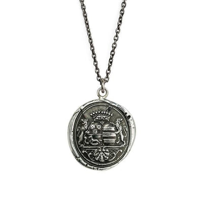 Sterling Silver Talisman Necklace - Wandering Spirit