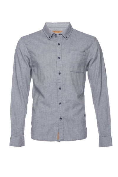 Truman Solid Brushed Cotton - Light Grey