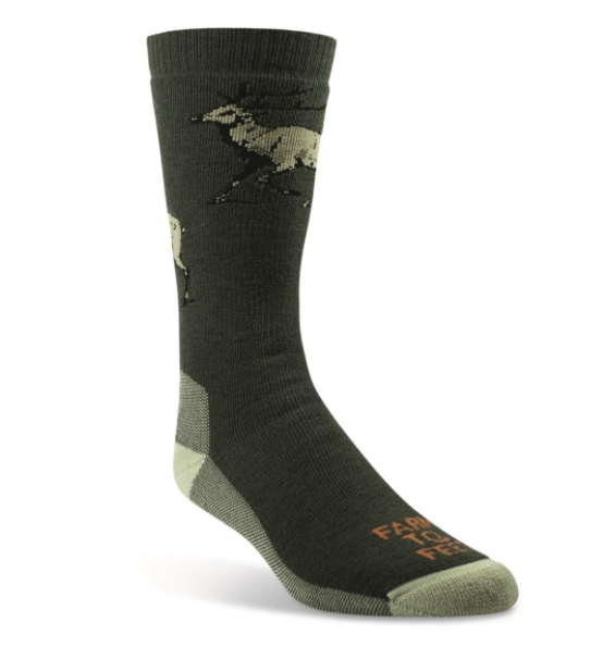 Englewood Full Cushion Sock - Forest