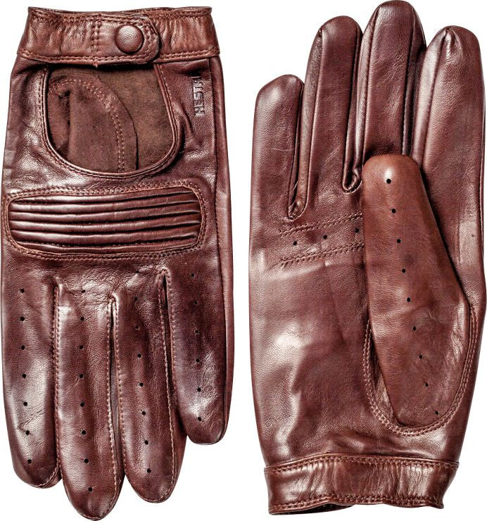Steve Driving Glove - Chestnut