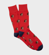 Bulldog Cotton Sock