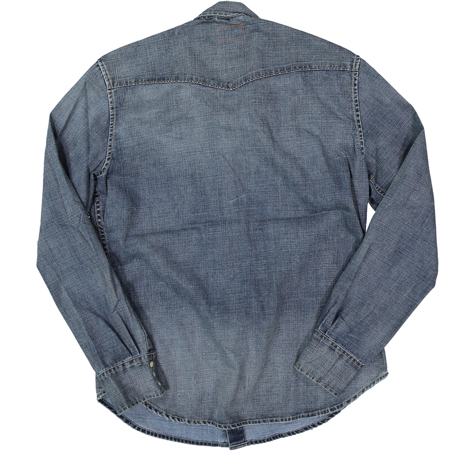 Garth Snap Front - Vintage Wash