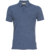 Nicholas Modal Polo - Navy & Red Stripe