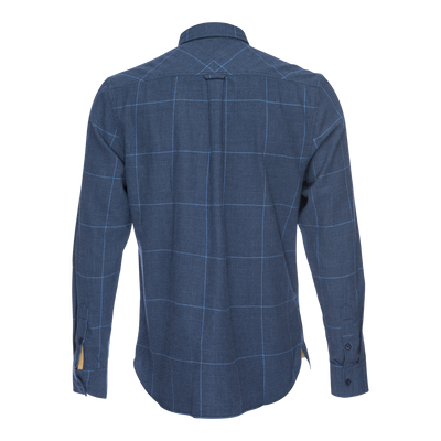 Truman Button Collar in Glen Plaid