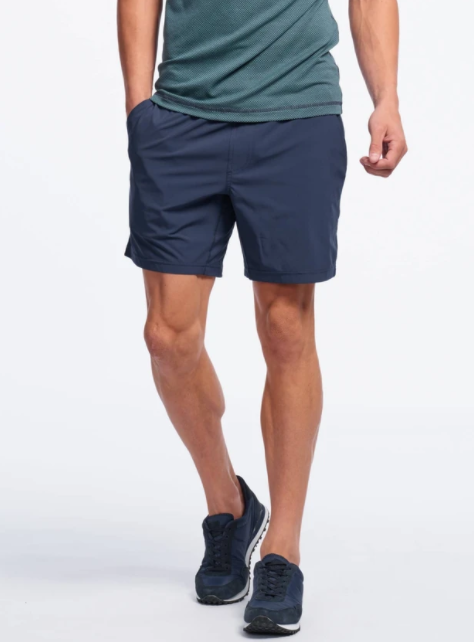 "7"" Mako Short Unlined - Navy"