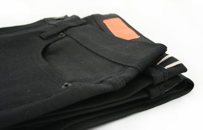 JIM - Slim Fit Jean - Raw Black