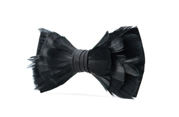 Rice Bow Tie - Goose Feathers