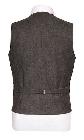 Behan Irish Tweed Waistcoat - Grey