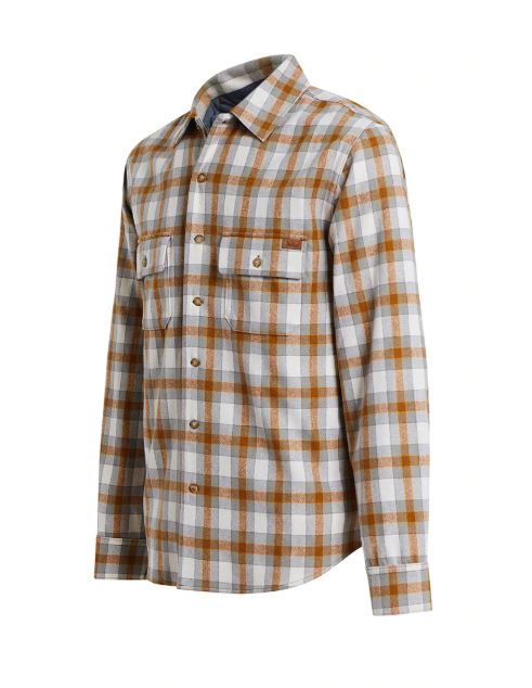Bering Washable Wool Shirt - Chicory