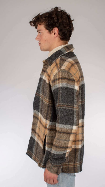 Wool Blanket Shirt - Barney