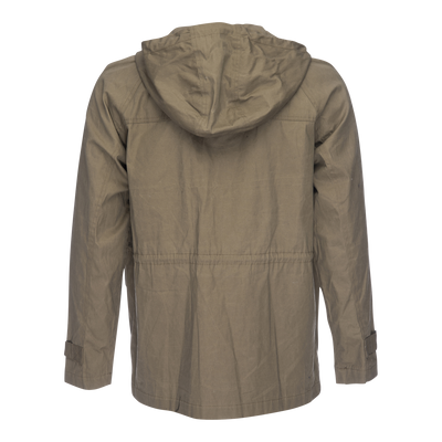 Waxed Hooded Parka