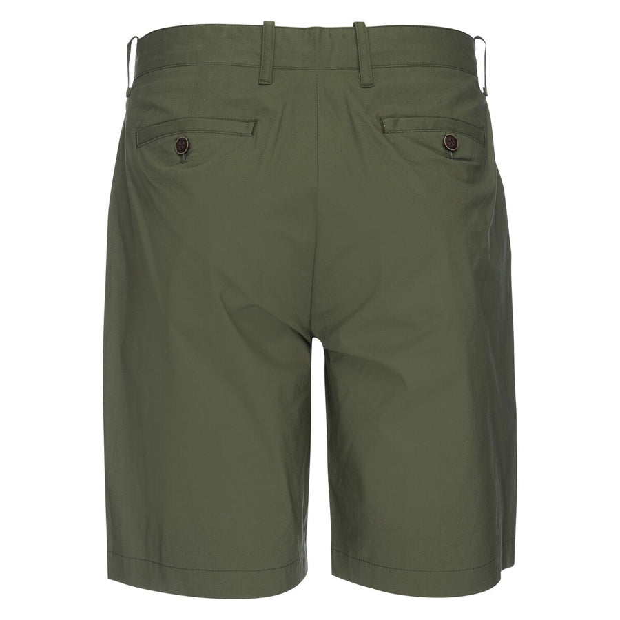Morgan Bermuda Short in Typewriter Cloth - Olive