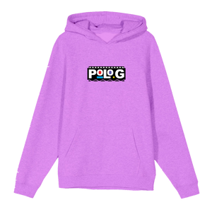Polo G Martin & Gina Hoodie in Purple