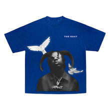 Load image into Gallery viewer, I Am What I Am Tee in Blue + Digital Album