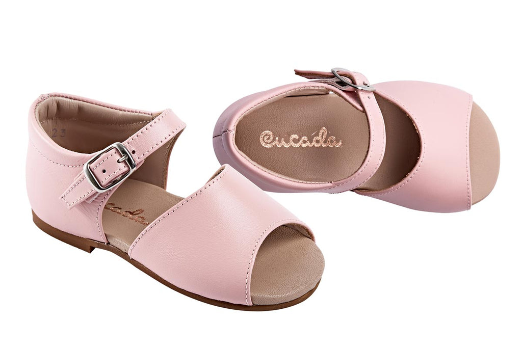 Cucada First Steps Sandal Rose