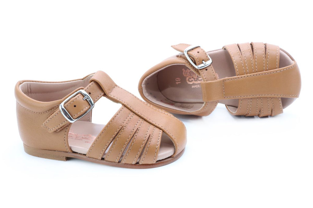 Cucada First Steps Sandal Wood - Kids Kicks Pty Ltd