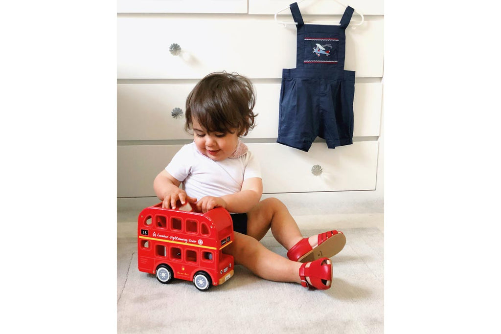 Cucada First Steps Sandal Red