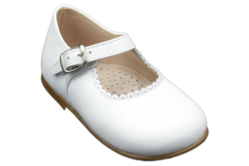 Cucada First Steps Mary-Jane White - Kids Kicks Pty Ltd