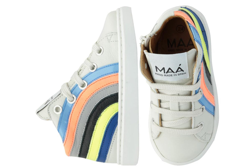 MAA High Tops Rainbow Jackson - Kids Kicks Pty Ltd