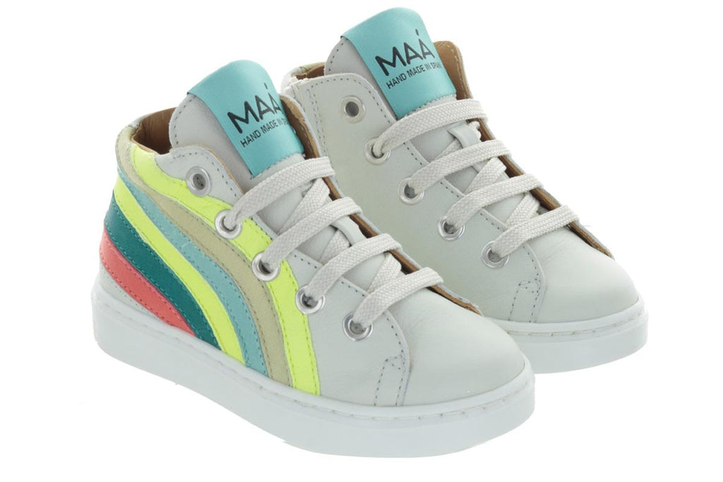 MAA High Tops Rainbow Tropic - Kids Kicks Pty Ltd