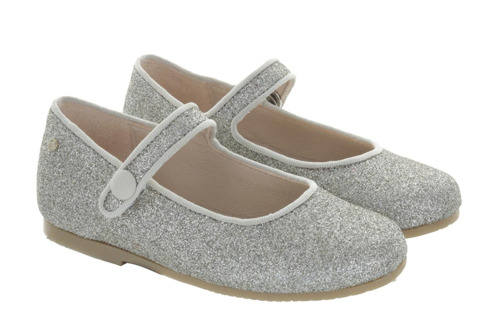 Manuela De Juan Mimi Mary Jane Platinum - Kids Kicks Pty Ltd