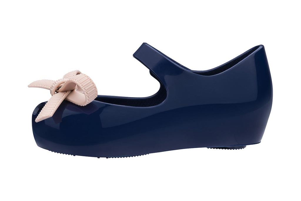 Mini Melissa Jason Wu Ultragirl II Navy Gloss - Kids Kicks Pty Ltd