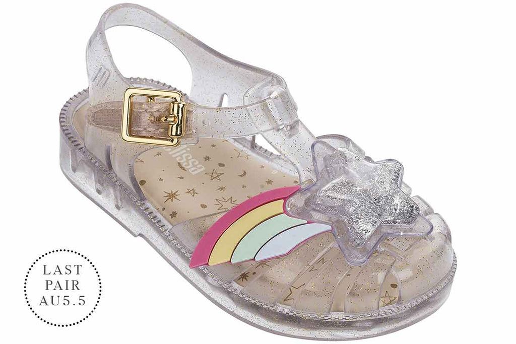Mini Melissa Possession II Clear Glitter