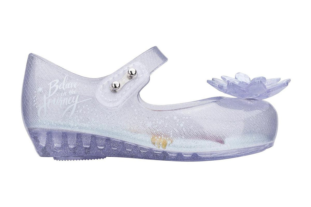 Mini Melissa Ultragirl + Frozen Clear Snowflake - Kids Kicks Pty Ltd
