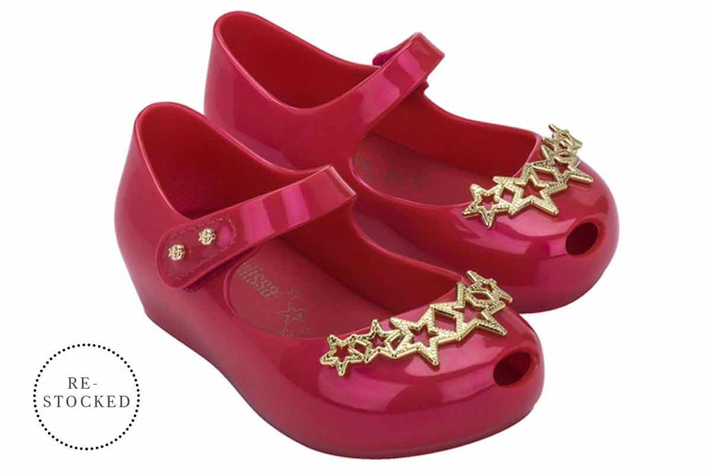 Mini Melissa Ultragirl Stars Red