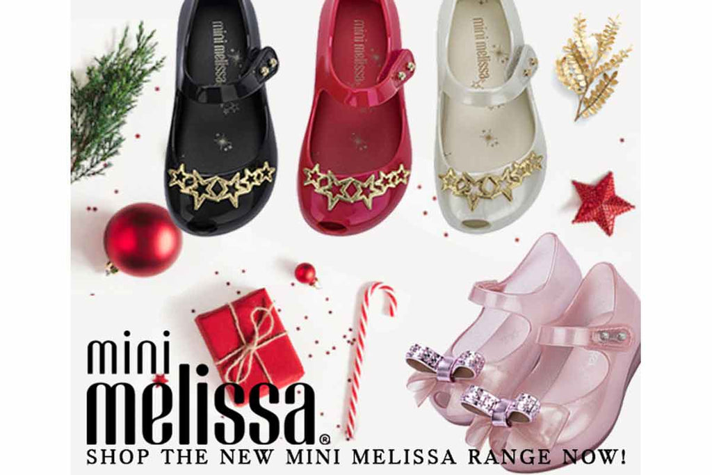 Mini Melissa Ultragirl Stars Black