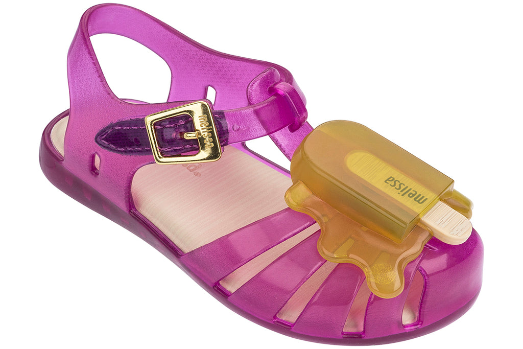 Mini Melissa Aranha Popsicle Purple/Yellow - Kids Kicks Pty Ltd
