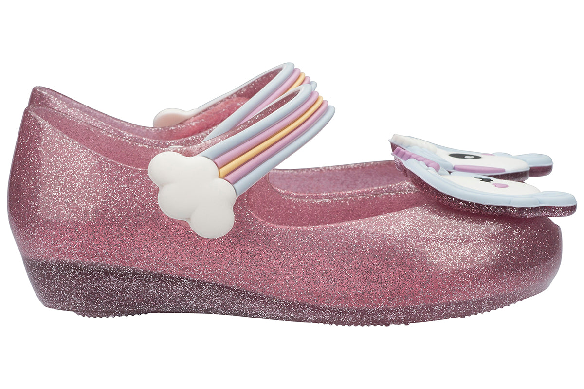 Mini Melissa Ultragirl Unicorn Pink Glitter - Kids Kicks Pty Ltd · Mini  Melissa   Mary Janes 475ba716d