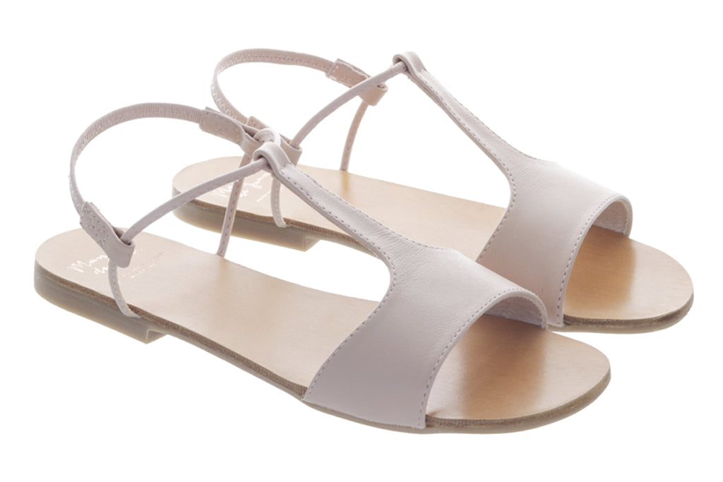 Manuela De Juan Mikonos Sandal Rose - Kids Kicks Pty Ltd