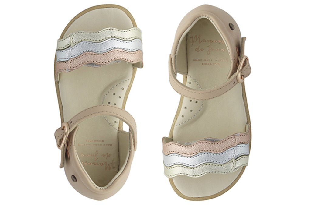 Manuela De Juan Ari Sandal Rose - Kids Kicks Pty Ltd