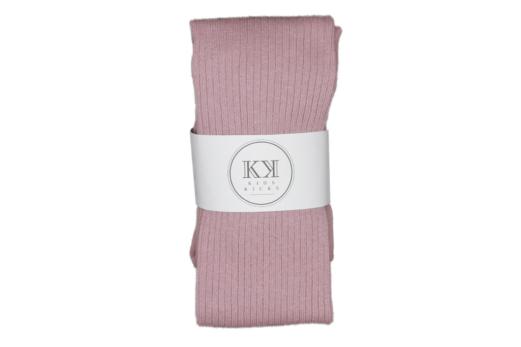 Thin Rib Stockings Blush - Kids Kicks Pty Ltd