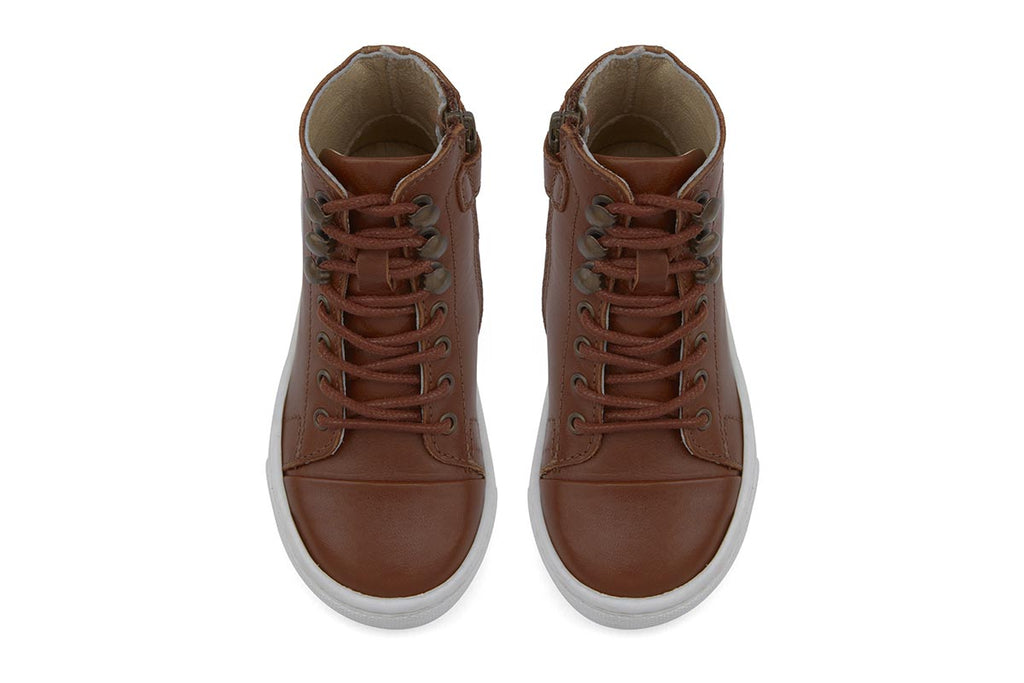 Young Soles Henry Boots Chestnut Brown - Kids Kicks Pty Ltd