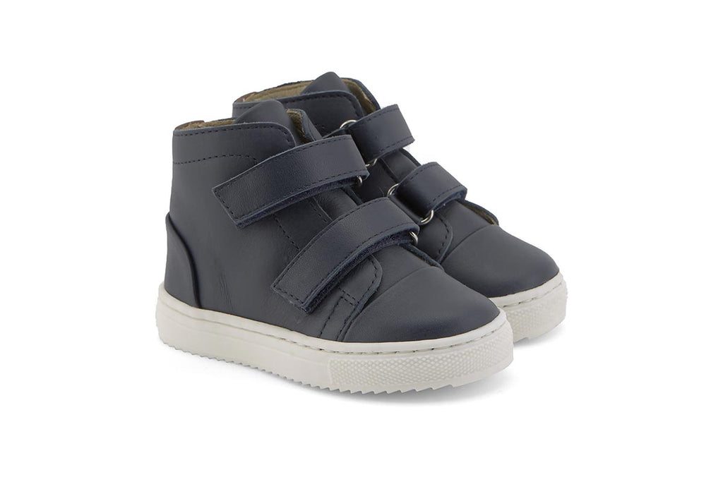 Young Soles Howard Boots Dark Navy - Kids Kicks Pty Ltd