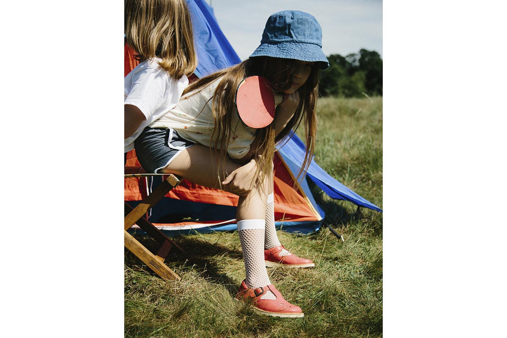 Young Soles Rosie T-Bar Rouge Red - Kids Kicks Pty Ltd