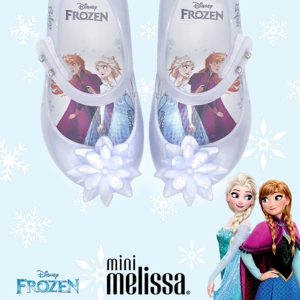 Mini Melissa Ultragirl + Frozen Pearl Snowflake - Kids Kicks Pty Ltd