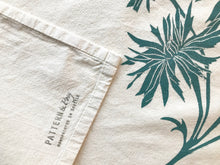 Load image into Gallery viewer, Wildflowers Block Printed Flour Sack Towel-100% cotton
