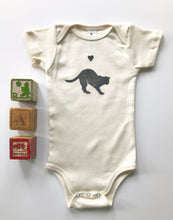 Load image into Gallery viewer, Cat Organic Cotton Infant One Piece Bodysuit
