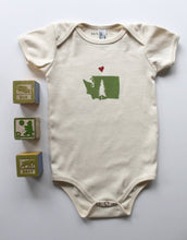 Load image into Gallery viewer, With Love from WA Organic Cotton Infant One Piece Bodysuit