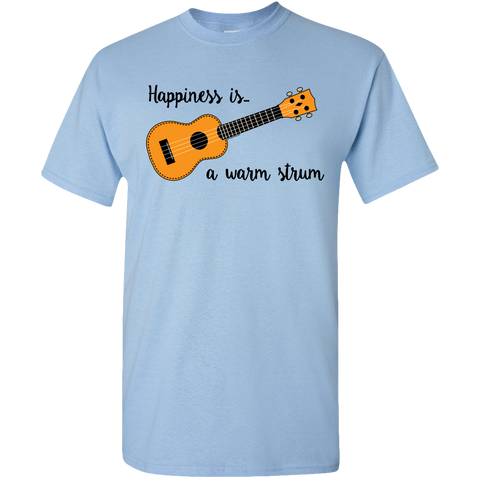 Happiness is a Warm Strum, unisex t-shirt